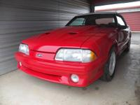 For Sale is a beautiful 1988 Ford Mustang GT