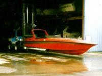 1988 FOUNTAIN ICBM 40Ft Off Shore Powerboat on Newer