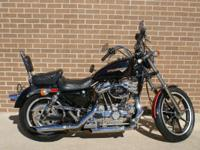 1988 Harley-Davidson XLH 883 Sportster Motorcycles