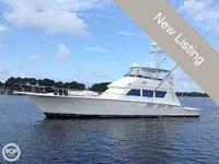 This is a really excellent Hatteras Sportfish, prepared