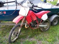 1988 HONDA CR125R (6 SPEED) DIRTBIKE I bought this bike