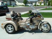 1988 Honda GL1500 Goldwing Trike. This Powersport Trike