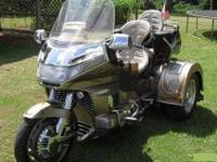 1988 Honda Gold Wing Trike This touring trike has