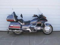 1988 Honda Goldwing (GL1500) is in good shape with