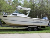Have a look at this great 1988 Hydra-Sports 2500 WA.