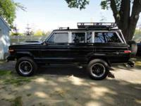 1988 Jeep Grand Wagoneer Classic Truck This is a newly