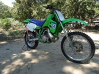HAVE A NICE CLEAN KAWASAKI KX 250 ADULT OWNED GREAT
