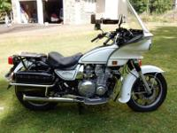 I am selling my 1988 KZ-1000P, not because I want to,