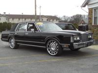 Options Included: 1988 LINCOLN TOWNCAR WITH 22""