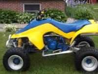 1988 LT500 Suzuki Quadzilla runs great ,twist