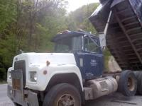FOR SALE 1988 MACK R688 TRIAXLE WITH 2002 MODEL16'