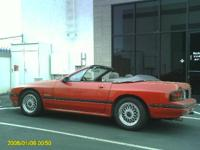 1988 Mazda RX7 Convertible Red with Black top. 89k