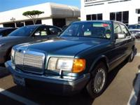 This 1988 Mercedes-Benz 300 4dr SE Sedan features a