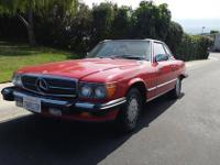 1988 Mercedes Benz 560 SL Roadster (CA) - $16,900 150k