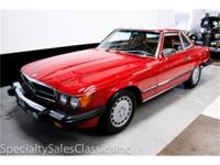This 1988 Mercedes Benz 560SL (Stock # 30676) is