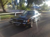 1988 Mercedes Benz 560 SL. 160,000 miles. Cost dropped