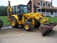For Sale 1988 MF 60 Tractor Loader Backhoe 4WD, extenda