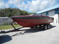 21-1/2 Mirage Cuddy Fresh Water Boat 363 original Hours