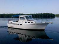 Morgan Classic 41, 1988, Yanmar 44hp, new Garmin