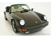 1988 PORSCHE 911 CARRERA CABRIOLET EXOTIC CLASSICS IS