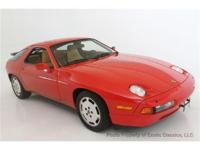 1988 PORSCHE 928S4 The Porsche 928S4 is a true Supercar