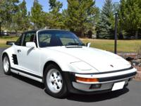 For sale is an extremely rare 1988 Porsche 930 Turbo