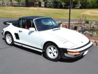 1988 Porsche 930 Turbo slant nose targa. This is a real