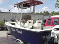 For sale is a 1988 proline 21 Center Console with the