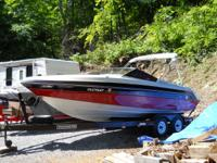 21 FOOT,8.5 BEAM, 270 HP MAGNUM V8 MERCRUISER, ALPHA 1
