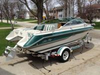 I'm selling my 1988 20' Sea Ray Seville. It has a 4.3