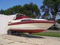 This fresh water boat is a 1988 Sea Ray 268 Sundancer