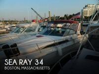 1988 Sea Ray 34 - Stock #087378 -
