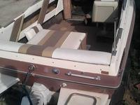 1988 Searay Seville 19' cuddy cabin Fishing boat.