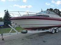 1988 Searay Sundancer 26' Boat, 8-Cylinder 4-Stroke I/O
