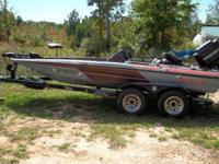 OBO. 1988 18 foot Skeeter, fish and ski, 150 HP Mercury