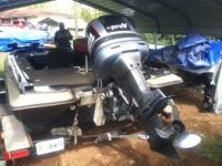 17' Skeeter Star Fire Bass Boat with 150Hp. Yamaha,