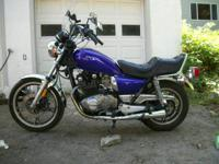1988 Suzuki GS 450 L with 9552 miles Runs and drives