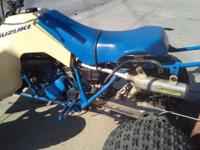 Two stroke originalrace Quad..needs love..runs strong