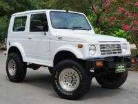 1988 White Suzuki Samurai Very Special and Wonderful