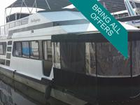 For sale a 51 foot x 13ft houseboat. 1988 yr. There is