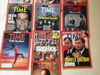 Time magazines great condition! 1988 Issues :