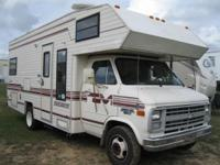 This 1988 Signature motor home is 23' and the mileage