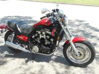 1988 Honda Hawk NT650 with 7275 initial miles. I'm the