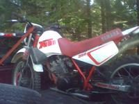 Would like to sell my 1988 yamaha xt350 dual sport