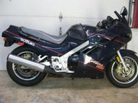 1988 Suzuki katana 1100 with only ( 2,920 miles) runs
