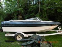 1988 Baja Islander 4 cylinder 3.0 Mercruiser with the