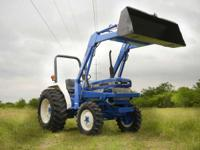 This classic Ford tractor is reliable to deliver the