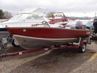 You are taking a look at a 16 Foot Lund Fishing boat