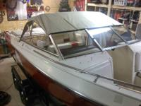 260 hp mercruiser with swim platform open bow boat 20