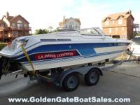 1989, 22' SEA RAY 22 PACHANGA with 2001 EZ-Loader
